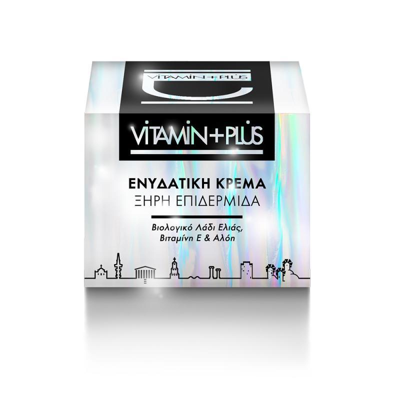 Hydra Face Cream Dry Skin - Vitamin Plus 50 ml    Αντιγύρανση / Σύσφιξη στο Make Up Art