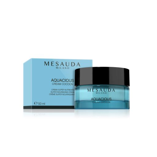 Aquasious Cream Cocoon Super Nourishing Cream - Mesauda Milano 50 ml |  Ενυδάτωση στο Make Up Art