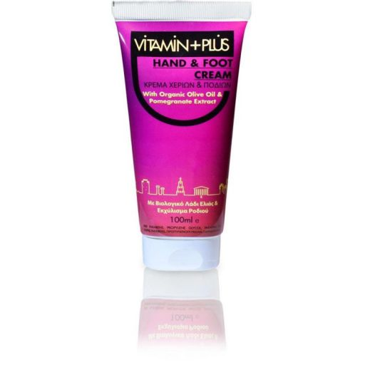 Hand & Foot Cream - Vitamin Plus 100 ml |  Φυτικά Προϊόντα στο Make Up Art