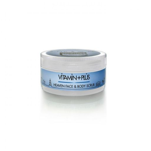 Heaven Face & Body Scrub - Vitamin Plus 200 ml |  Απολέπιση στο Make Up Art