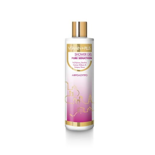 Shower Gel Pure Seduction - Vitamin Plus 250 ml |  Shower gel στο Make Up Art