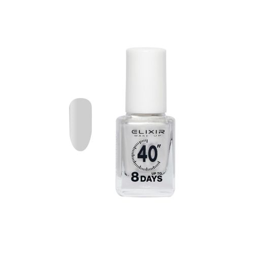 up To 8 Days # 005 (White Pearl) 13 ml - Elixir Make-Up    Βερνίκια στο Make Up Art