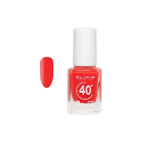 up To 8 Days # 027 (Strawberry) 13 ml - Elixir Make-Up    Βερνίκια στο Make Up Art