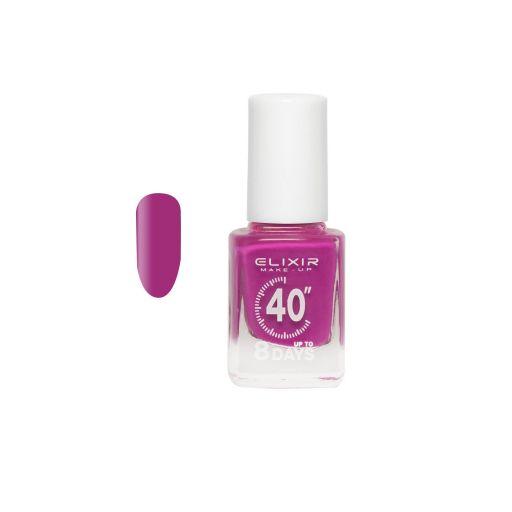 up To 8 Days # 034 (Violet Red) 13 ml - Elixir Make-Up    Βερνίκια στο Make Up Art