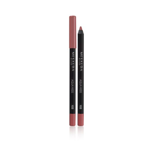 Aqua Kiss Waterproof lip pencil 103 ( Bonbon ) - Mesauda Milano |  Lip pencil στο Make Up Art