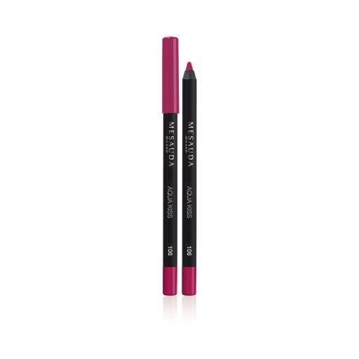 Aqua Kiss Waterproof lip pencil 106 ( Passion ) - Mesauda Milano |  Lip pencil στο Make Up Art