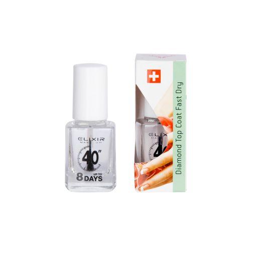 Θεραπεία Νυχιών – Diamond Top Coat Fast Dry #867 - Elixir Make-up |  Θεραπείες νυχιών στο Make Up Art