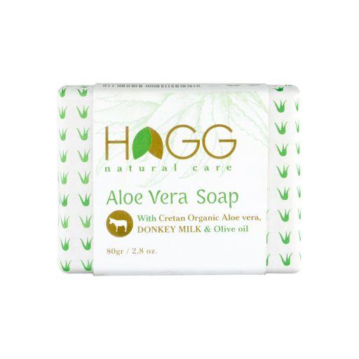Natural Care Aloe Vera Soap 80gr - Hagg |  Φυτικά Προϊόντα στο Make Up Art