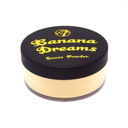 Banana Dreams Loose Powder 20 g - W7    Μακιγιάζ στο Make Up Art