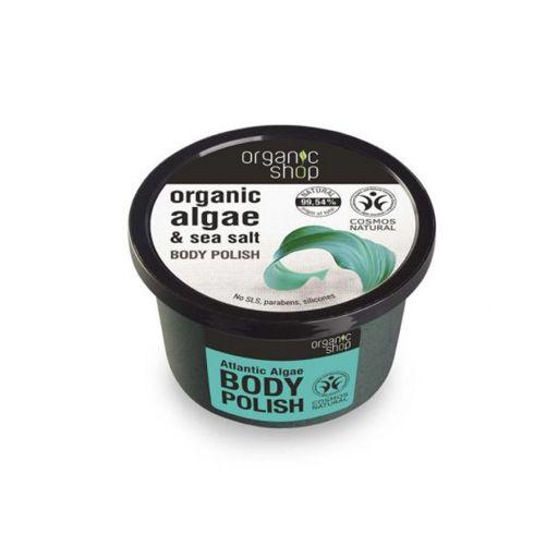 Body polish Atlantic Algae  250 ml - Organic Shop Natura Siberica |  Σώμα στο Make Up Art
