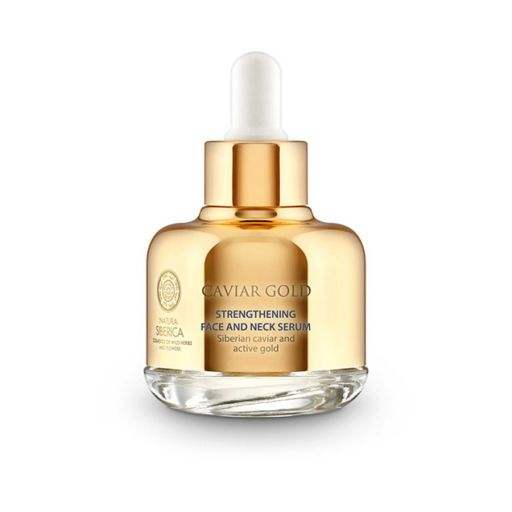 Caviar Gold Strengthening Face and Neck Serum 30 ml - Natura Siberica |  Πρόσωπο στο Make Up Art