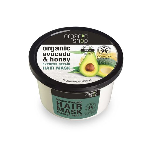 Honey Avocado Hair Mask 250 ml - Organic shop - Natura Siberica |  Φυτικά Προϊόντα στο Make Up Art