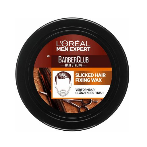 Barber Club Slicked Hair Wax 75ml - L'Oreal Men Expert |  Ανδρική Περιποίηση στο Make Up Art