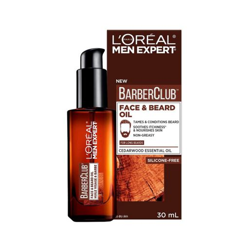 Barber Club Beard Oil 30ml - L'Oreal Men Expert |  Ανδρική Περιποίηση στο Make Up Art