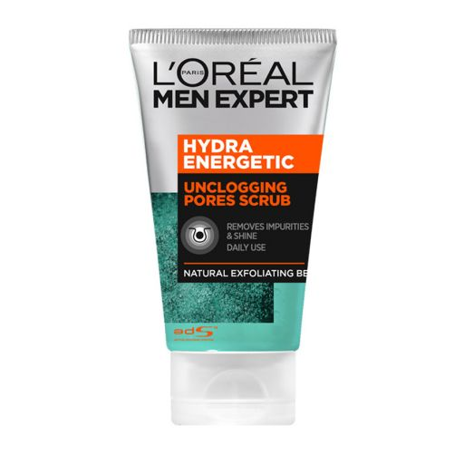 Hydra Energetic Scrub 100ml - L'Oreal Men Expert |  Ανδρική Περιποίηση στο Make Up Art