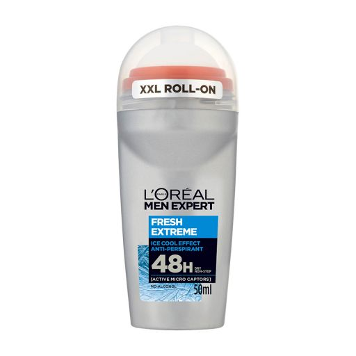 Fresh Extreme Roll-on 50ml - L'Oreal Men Expert |  Ανδρική Περιποίηση στο Make Up Art