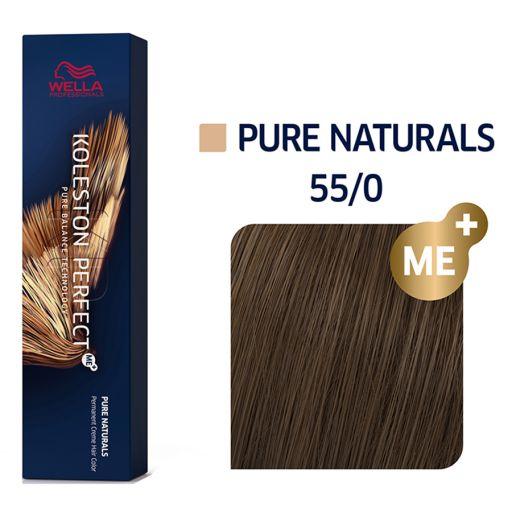 Koleston Perfect ME+ Pure Naturals 55/0  60 ml - Wella Professionals |  Βαφές Μαλλιών στο Make Up Art