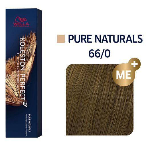 Koleston Perfect ME+ Pure Naturals 66/0  60 ml  - Wella Professionals |  Βαφές Μαλλιών στο Make Up Art