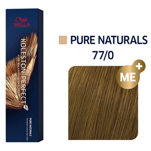 Koleston Perfect ME+ Pure Naturals 77/0 60 ml  - Wella Professionals |  Βαφές Μαλλιών στο Make Up Art
